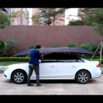 An Auto Portable Car Umbrella Is Here To Protect Your Car